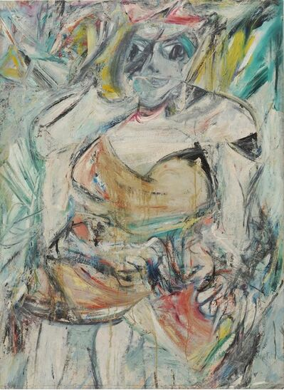 Willem de Kooning, 'Woman II', 1952