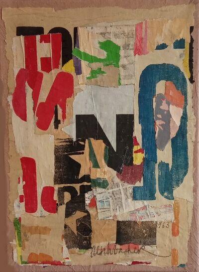 Arthur Aeschbacher, 'Le Savoir Castagné', 1963