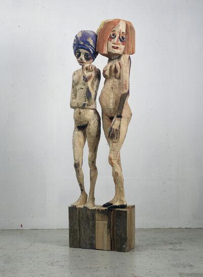 Hans Scheib, 'Die Zweite / Die Zwölfte', 1991