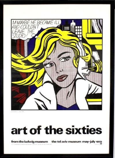 Roy Lichtenstein, ''art of the sixties'', 1979