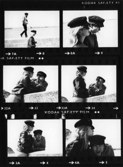 Eric Swayne, 'David Bailey & Catherine Deneuve Contact Sheet ', ca. 1965