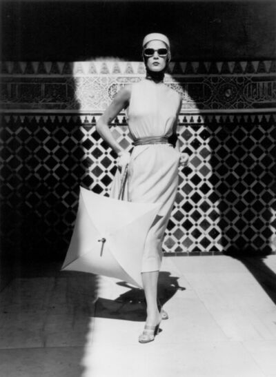 Louise Dahl-Wolfe, 'Jean Patchett, Alhambra, Spain', 1953