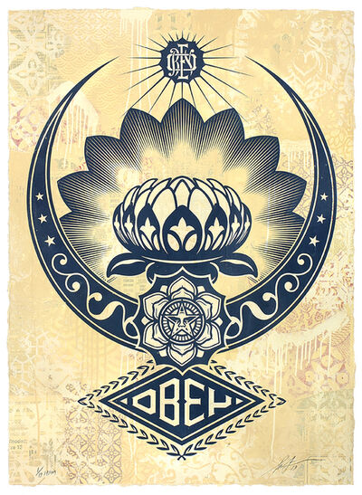 Shepard Fairey, 'Lotus Ornament', 2019