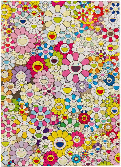 Takashi Murakami, 'An Homage to Yves Klein, Multicolor A', 2012