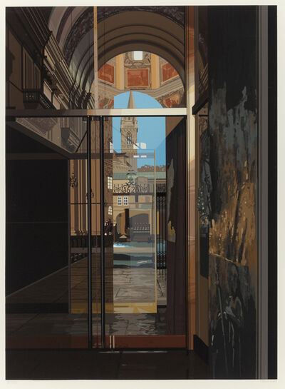 Richard Estes, 'Salzburg Cathedral', 1983