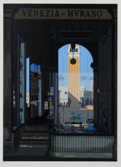 Richard Estes, 'Urban Landscapes No. 2 (complete portfolio of 8 prints with original cloth portfolio)', 1979