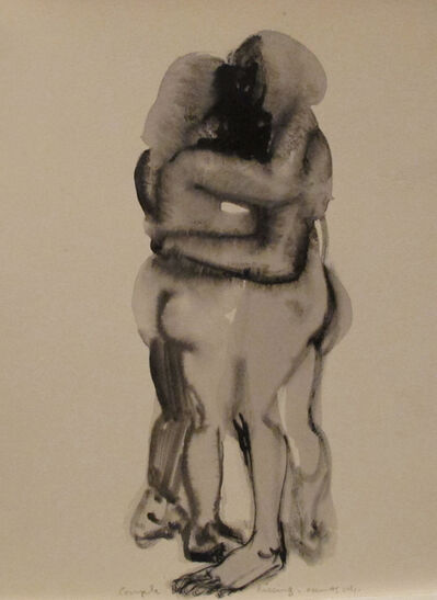 Marlene Dumas, 'Couple Kissing', 2014