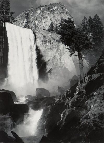 Ansel Adams, 'Vernal Fall, Yosemite National Park, California', circa 1948