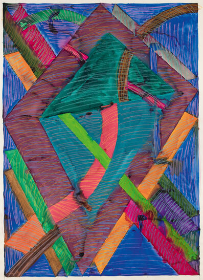 William T. Williams, 'Stray Cats (Drawing After Sophia Jackson L.A.M.F.)', 1970