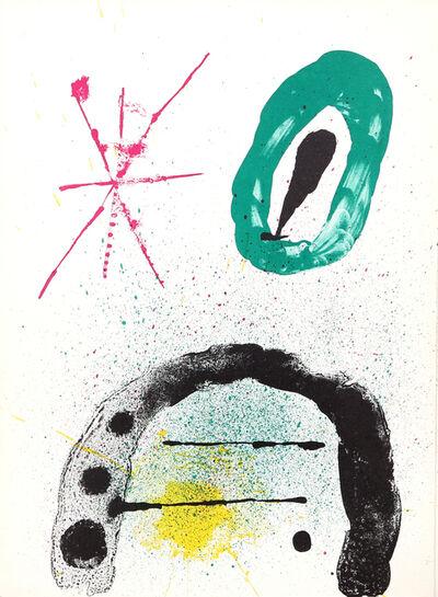 Joan Miró, 'La Fille du Jardinier II from Derrière le Miroir ', 1963