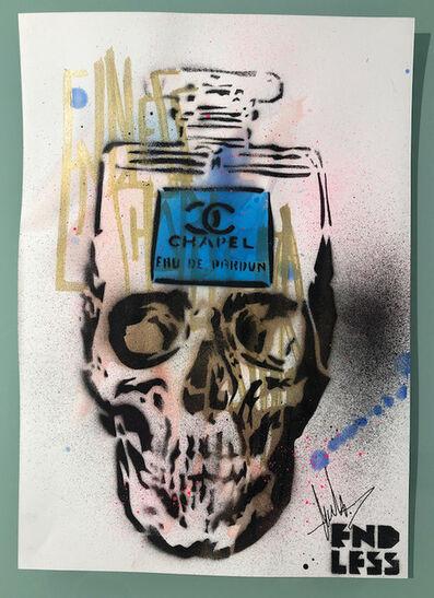 ENDLESS, 'Endless sketch books - series One (Skull V)', 2019