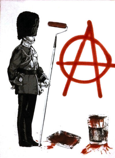 Mr. Brainwash, 'Anarchy Soldier', 2012
