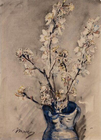 Maceo Casadei, 'Fiori nel vaso azzurro'