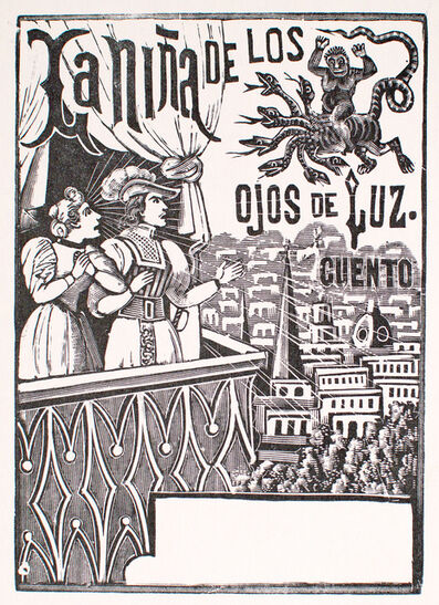 José Guadalupe Posada, 'La Nina Del Los Ojos de Luz', 1880-1910