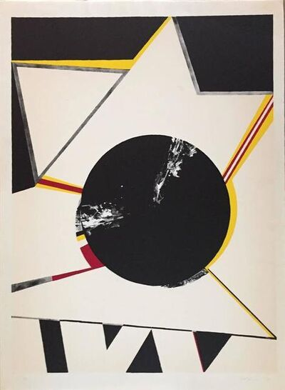 """Budd Hopkins, '""""Untitled"""" Abstract Star', 1960-1969"""