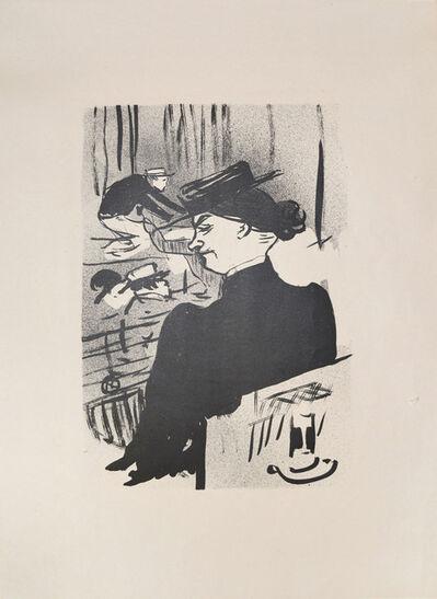 Henri de Toulouse-Lautrec, 'A Spectator', 1893