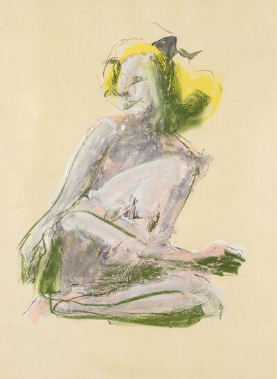 John Altoon, 'Untitled (Kneeling Nude)'