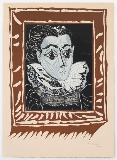 Pablo Picasso, 'La Dame à la Collerette (Portrait de Jacqueline à la Fraise)', 1962
