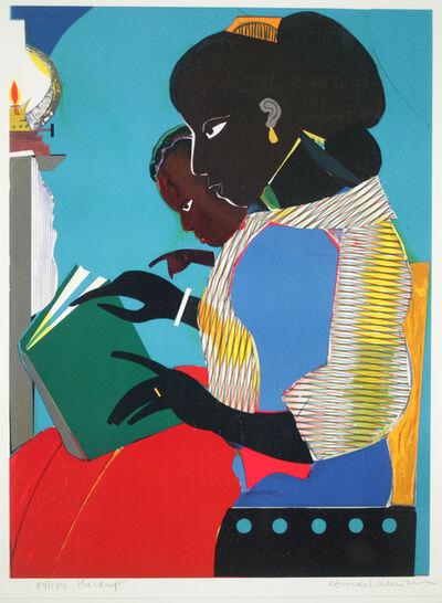 Romare Bearden, 'The Lamp ', 1984