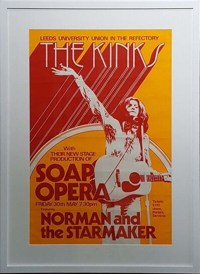 Concert Poster, 'Live at Leeds: the 'Soap Opera' Tour', 1975