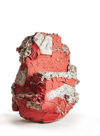 Aneta Regel, 'Red Raining Stone', 2017