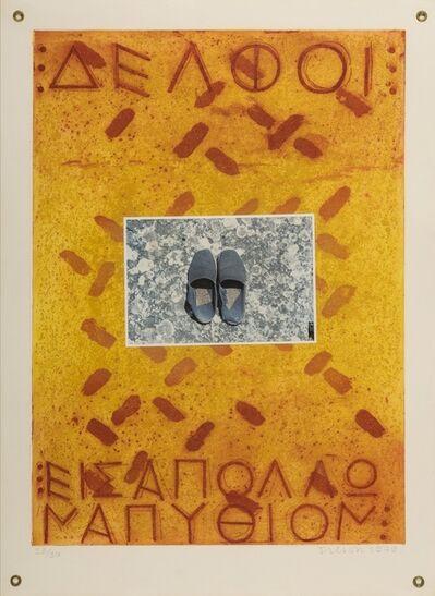 Joe Tilson, 'Proscinemi, Delphi.', 1979