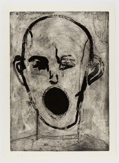 Jim Dine, 'Poet Singing', 2016