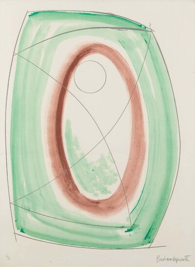 Barbara Hepworth, 'November Green', 1970