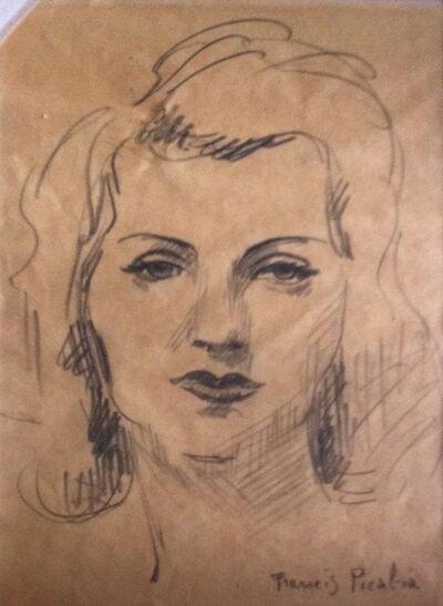 Francis Picabia, 'Visage de femme', 1940-1943