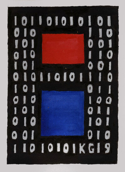 Ken Grimes, 'Untitled (Binary Code)', 2019