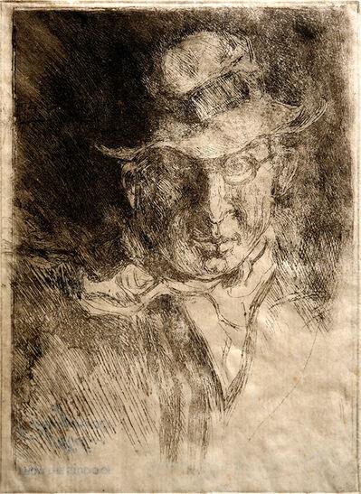 Miles Evergood, '(Self Portrait)', 1931