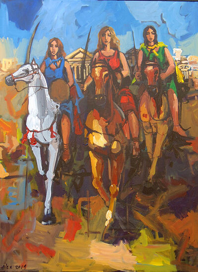 Alex Khattab, 'Greek Amazons', 2019
