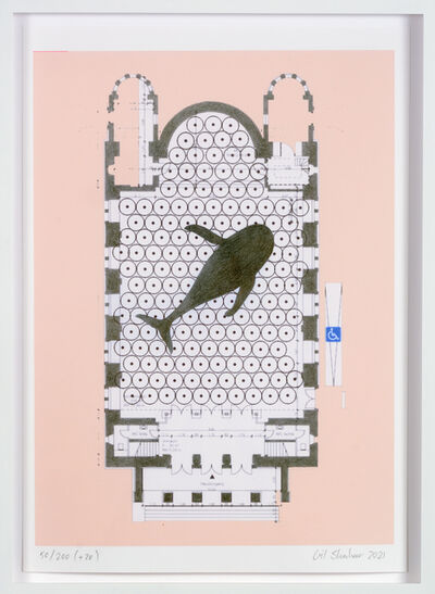 Gil Shachar, 'Untitled (Cast Whale Project @ St. Elisabeth)', 2021