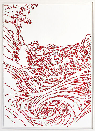 Xavi Muñoz, 'Sin título (Hokusai)', 2014
