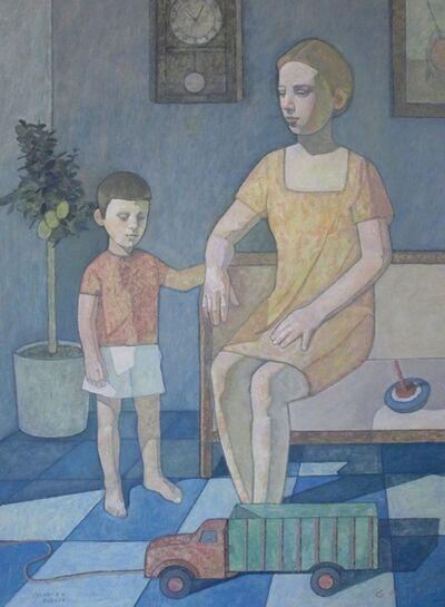 """Luigi Gatti, '""""Madre e figlio (Mother and son)""""', 2018"""