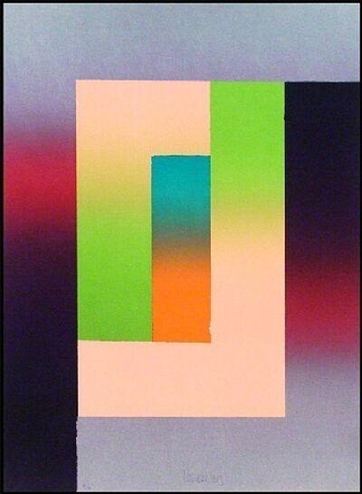 Larry Bell, 'Barcelona #5', 1988