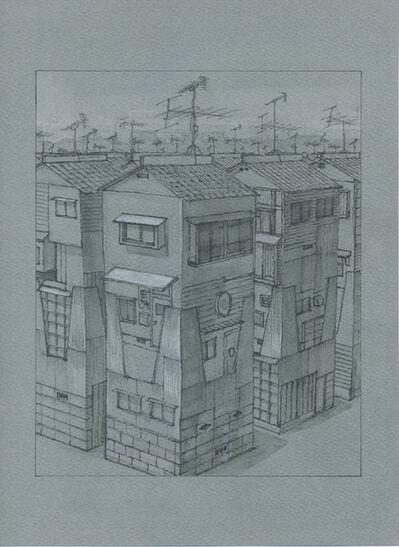 Masakatsu Sashie, 'Antenna House', 2015
