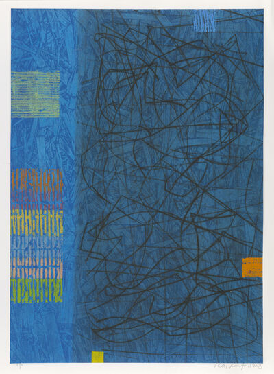 Ron Rumford, 'Blue Tangle'