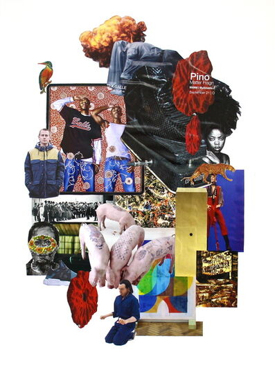 Avelino Sala, 'Artforum Collage 1', 2017