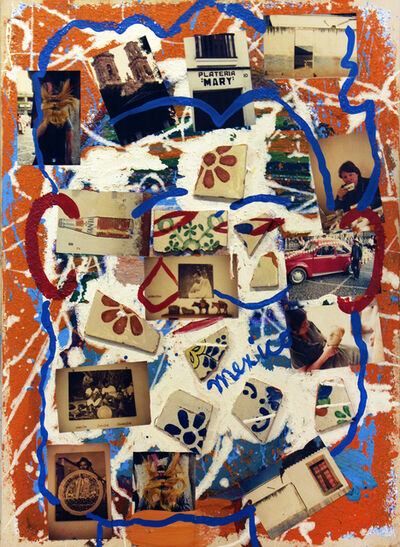 Isaiah Zagar, 'Mexico', 1984