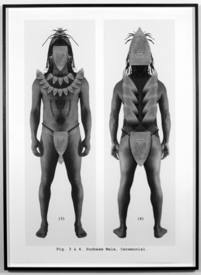Willie Cole, 'Sunbeam Male. Ceremonial', 2004