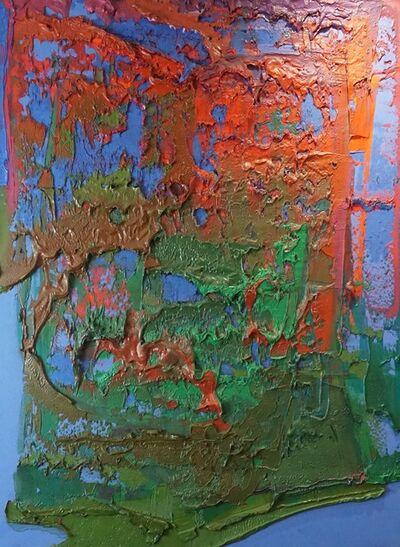 Bernat Klein, 'Balkan Blue I ', 1971
