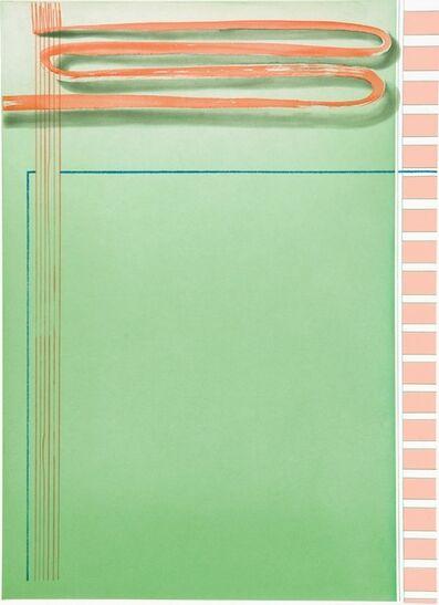 Tomma Abts, 'Untitled (Brushstroke)', 2009