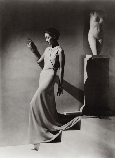Hoyningen-Huene, 'Evening Dress by Augusta Bernard', 1934