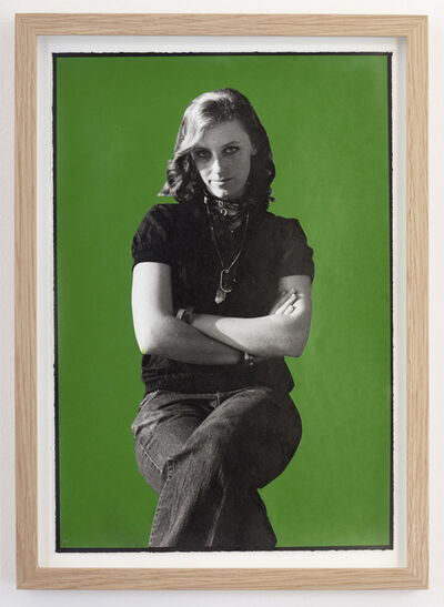 Ed Templeton, 'Green girl (ditch bitch)', 2013