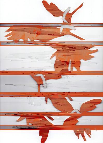 Leigh Blanchard, 'Orange Flower', 2020