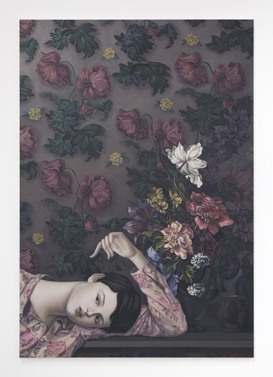 Jesse Mockrin, 'The Dark-Haired Odalisque', 2016