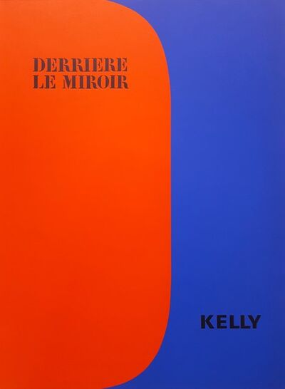 Ellsworth Kelly, 'Derrière Le Miroir No. 149 (front cover)', 1964