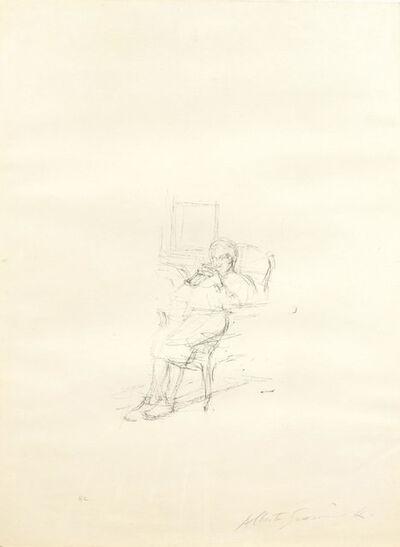 Alberto Giacometti, 'Mère de l'artiste assise II', 1965