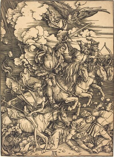 Albrecht Dürer, 'The Four Horsemen', probably c. 1496/1498